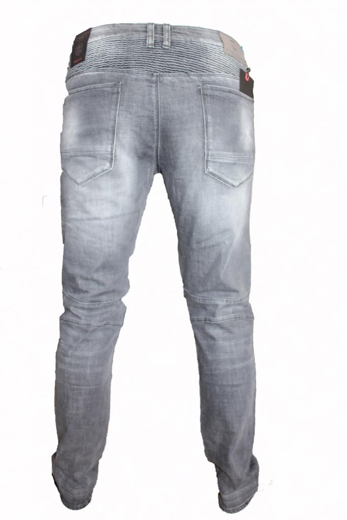 Spodnie stalowe z przeszyciami