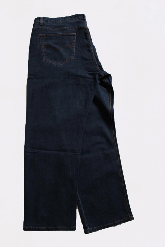 Spodnie jeansowe  granatowe Leon